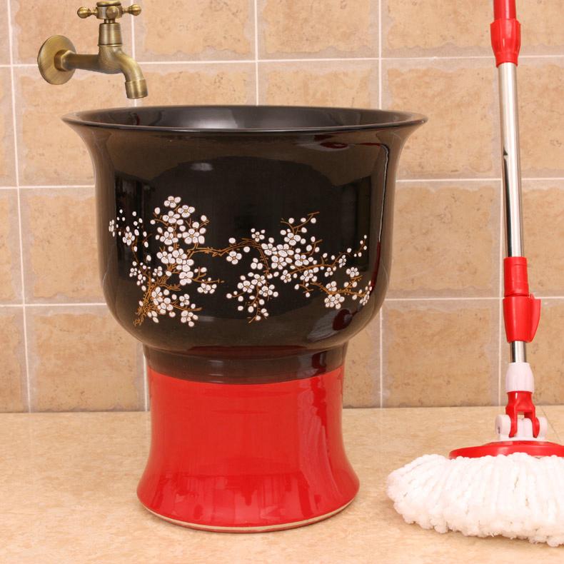 RYXW141_1 12 designs Ceramic mops washbasins  mop pool  mop washing - shengjiang  ceramic  factory   porcelain art hand basin wash sink