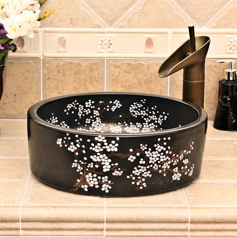 RYXW684_2 9 designs Porcelain vessel sink - shengjiang  ceramic  factory   porcelain art hand basin wash sink