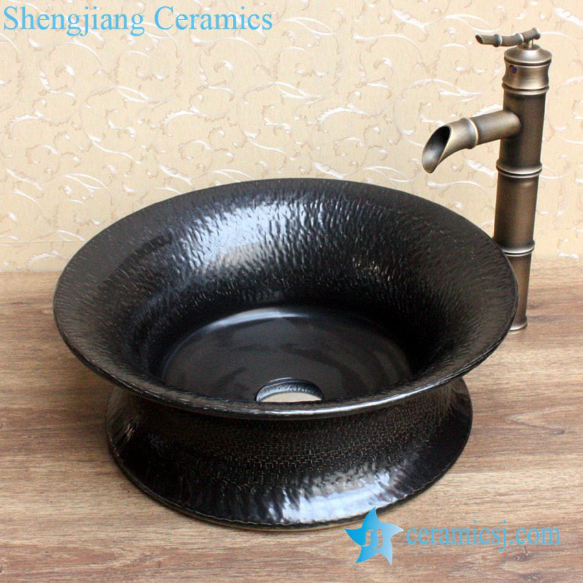 YL-B0_2072-1 YL-B0_2072 Made in China plain solid color tunic ceramic counter top vanity wash basin - shengjiang  ceramic  factory   porcelain art hand basin wash sink