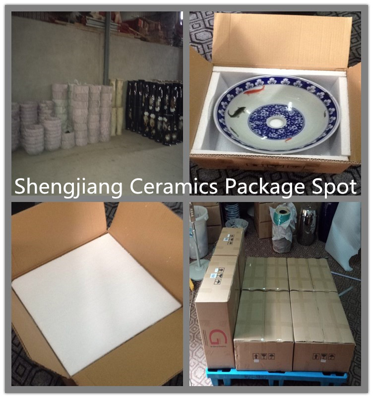 sink-package-image About Us - shengjiang  ceramic  factory   porcelain art hand basin wash sink