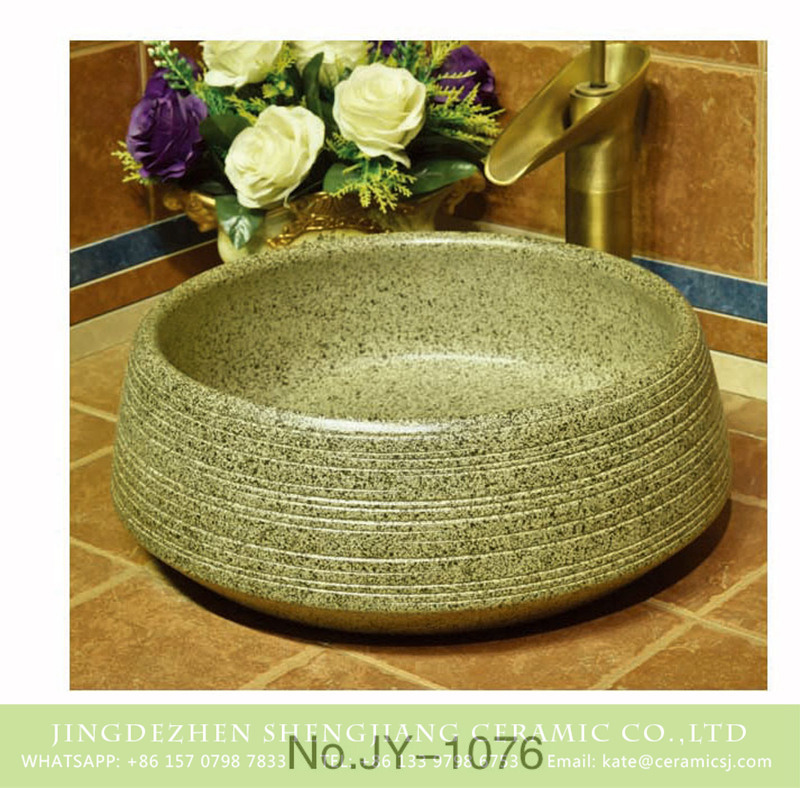 SJJY-1076-15仿古聚宝盆_09 Jingdezhen wholesale hand carved durable ceramic wash sink     SJJY-1076-15 - shengjiang  ceramic  factory   porcelain art hand basin wash sink