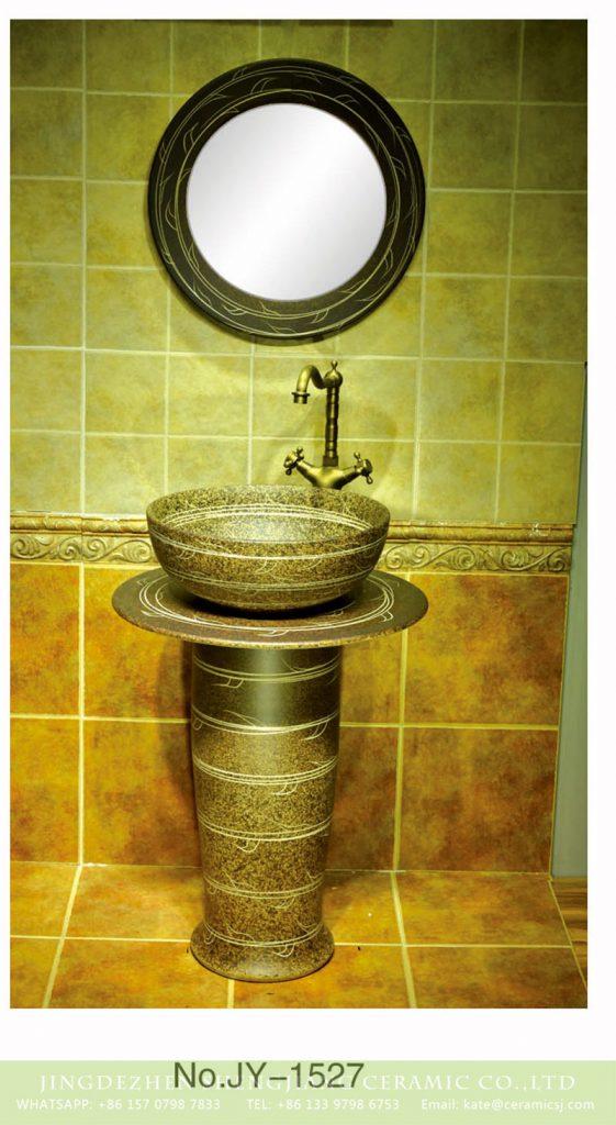 SJJY-1527-63立柱盆_05-561x1024 Large bulk sale retro style ceramic artone piece freestanding basin      SJJY-1527-63 - shengjiang  ceramic  factory   porcelain art hand basin wash sink