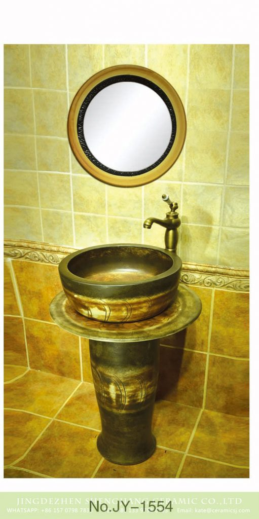 SJJY-1554-67立柱盆_09-511x1024 SJJY-1554-67    China handmade ancient design durable one piece basin - shengjiang  ceramic  factory   porcelain art hand basin wash sink