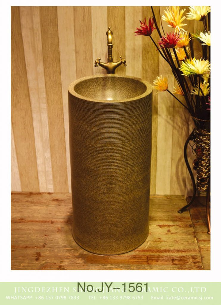 SJJY-1561-71仿古一体盆_05-742x1024 SJJY-1561-71   Factory outlet high temperature porcelain durable column basin - shengjiang  ceramic  factory   porcelain art hand basin wash sink