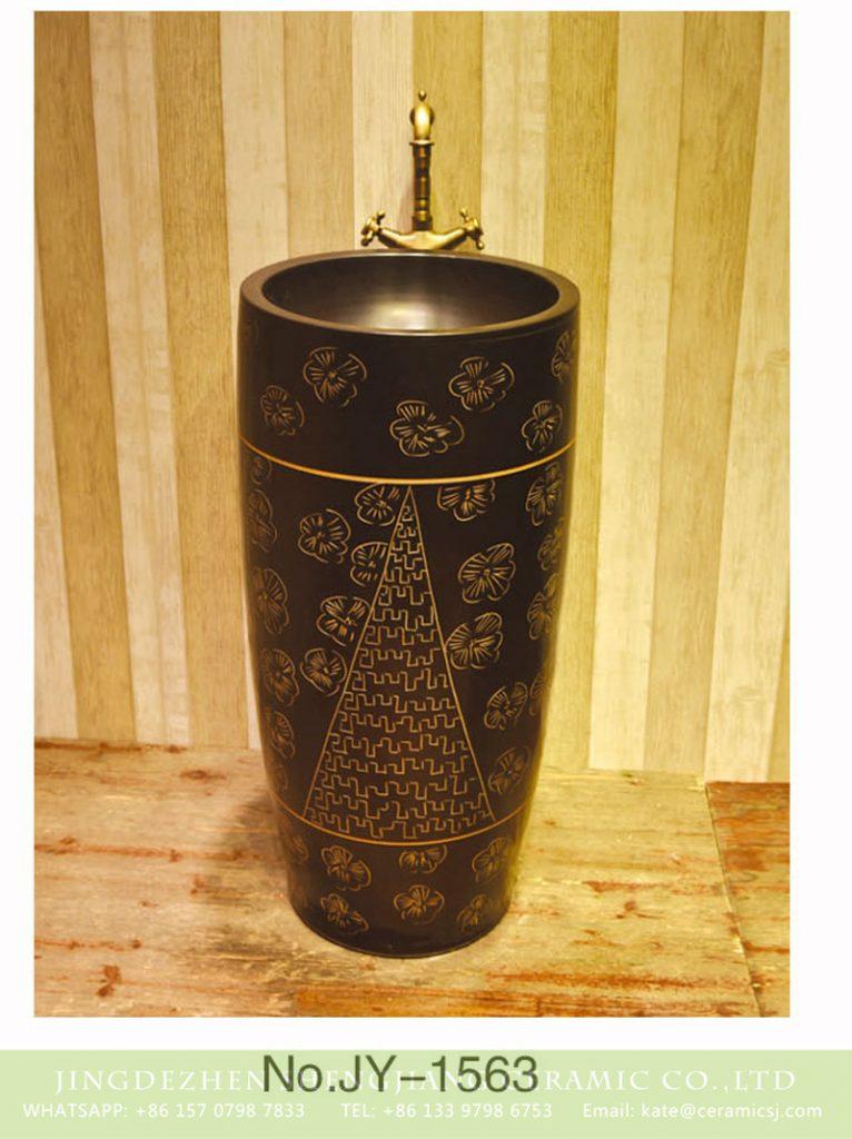 SJJY-1563-71仿古一体盆_08-766x1024 SJJY-1563-71    Asia online salehandmade high quality pedestal basin - shengjiang  ceramic  factory   porcelain art hand basin wash sink