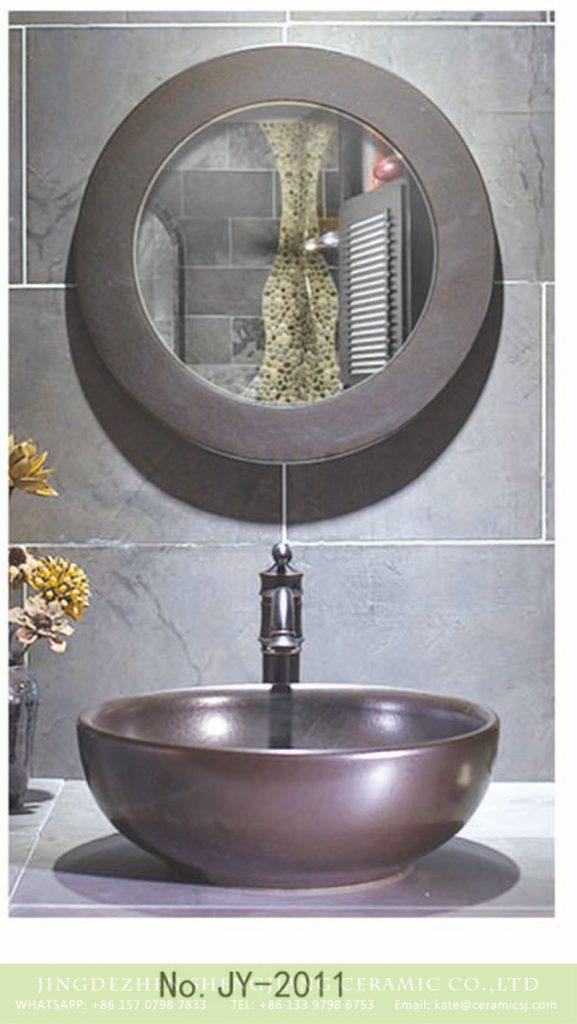 SJJY-2011-3金属釉台上盆_08-577x1024 SJJY-2011-3  Shengjiang factory hot sale metal glazed bowl basin - shengjiang  ceramic  factory   porcelain art hand basin wash sink