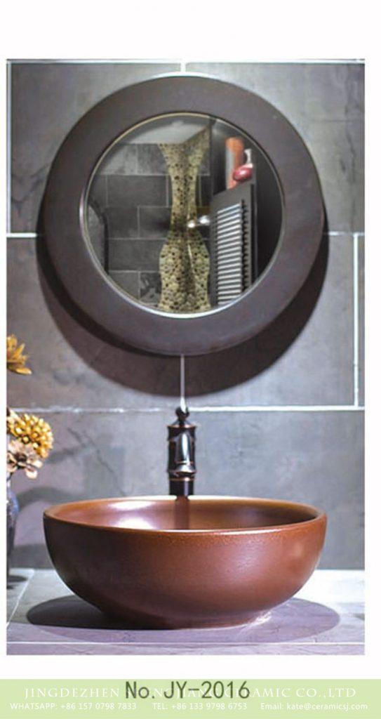 SJJY-2016-4金属釉台上盆_07-543x1024 SJJY-2016-4   Shengjiang produce pure handmade durable bowl basin - shengjiang  ceramic  factory   porcelain art hand basin wash sink