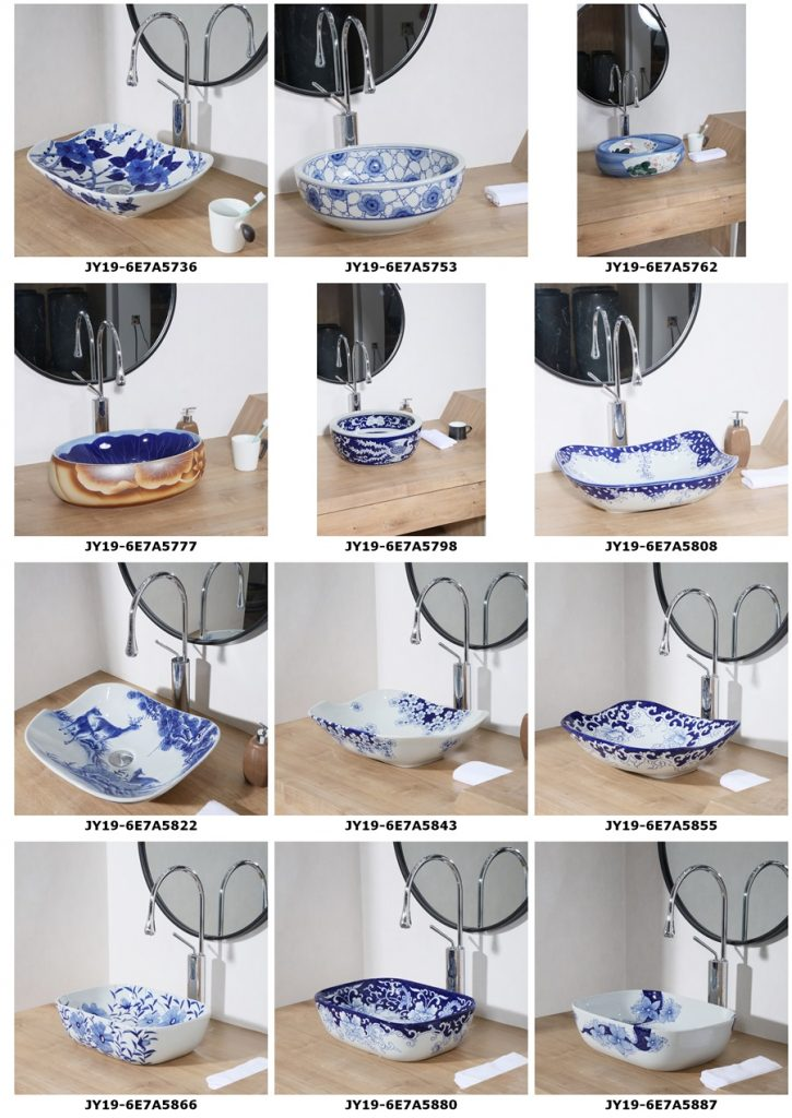 2019.VOL04-jingdezhen-shengjiang-ceramic-art-basin-washsink-brochure-jy_004-725x1024 2019 vol04 New arrivals Shengjiang exquisite arts and crafts porcelain wash basin - shengjiang  ceramic  factory   porcelain art hand basin wash sink