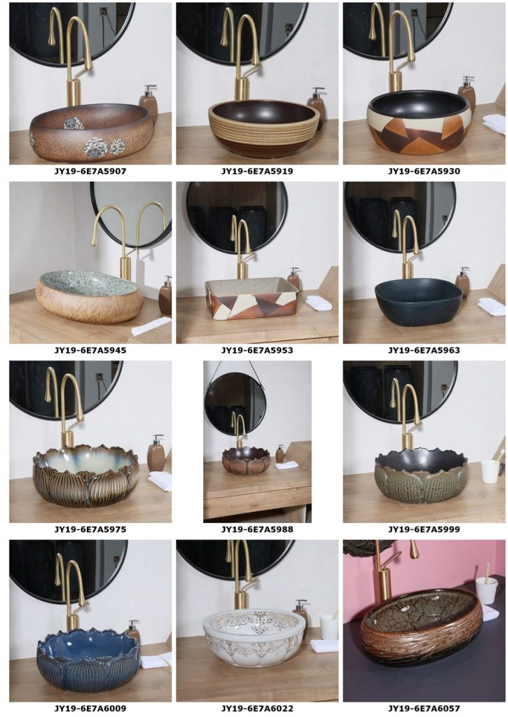 2019.VOL04-jingdezhen-shengjiang-ceramic-art-basin-washsink-brochure-jy_005-725x1024 2019 vol04 New arrivals Shengjiang exquisite arts and crafts porcelain wash basin - shengjiang  ceramic  factory   porcelain art hand basin wash sink