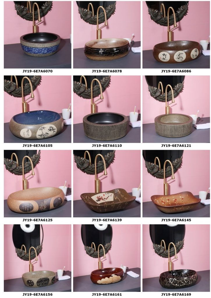 2019.VOL04-jingdezhen-shengjiang-ceramic-art-basin-washsink-brochure-jy_006-725x1024 2019 vol04 New arrivals Shengjiang exquisite arts and crafts porcelain wash basin - shengjiang  ceramic  factory   porcelain art hand basin wash sink