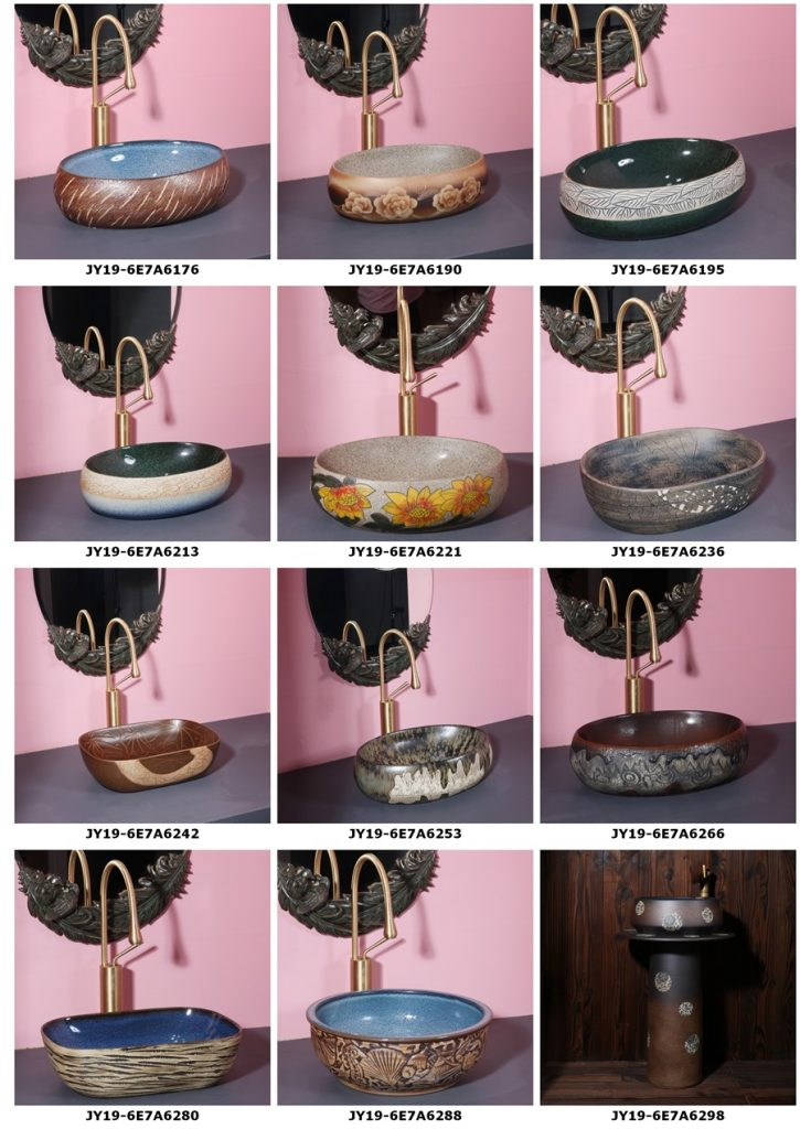 2019.VOL04-jingdezhen-shengjiang-ceramic-art-basin-washsink-brochure-jy_007-725x1024 2019 vol04 New arrivals Shengjiang exquisite arts and crafts porcelain wash basin - shengjiang  ceramic  factory   porcelain art hand basin wash sink