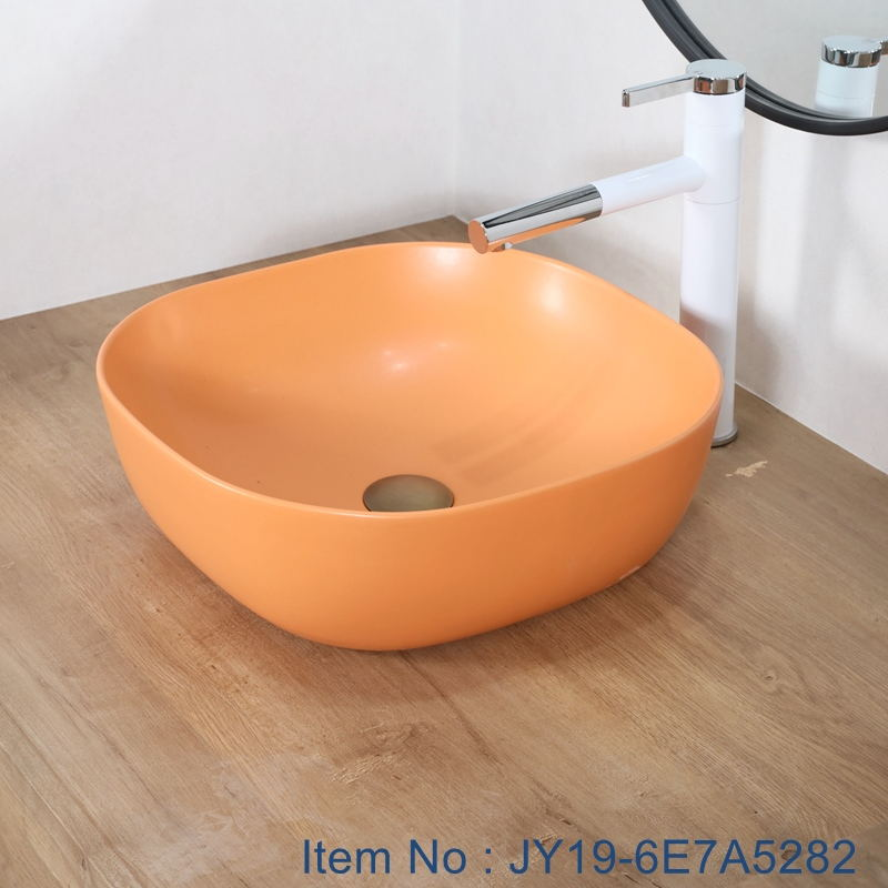JY19-6E7A5282_看图王 JY19-6E7A5282 orange color and a little square modern porcelain washbasin - shengjiang  ceramic  factory   porcelain art hand basin wash sink