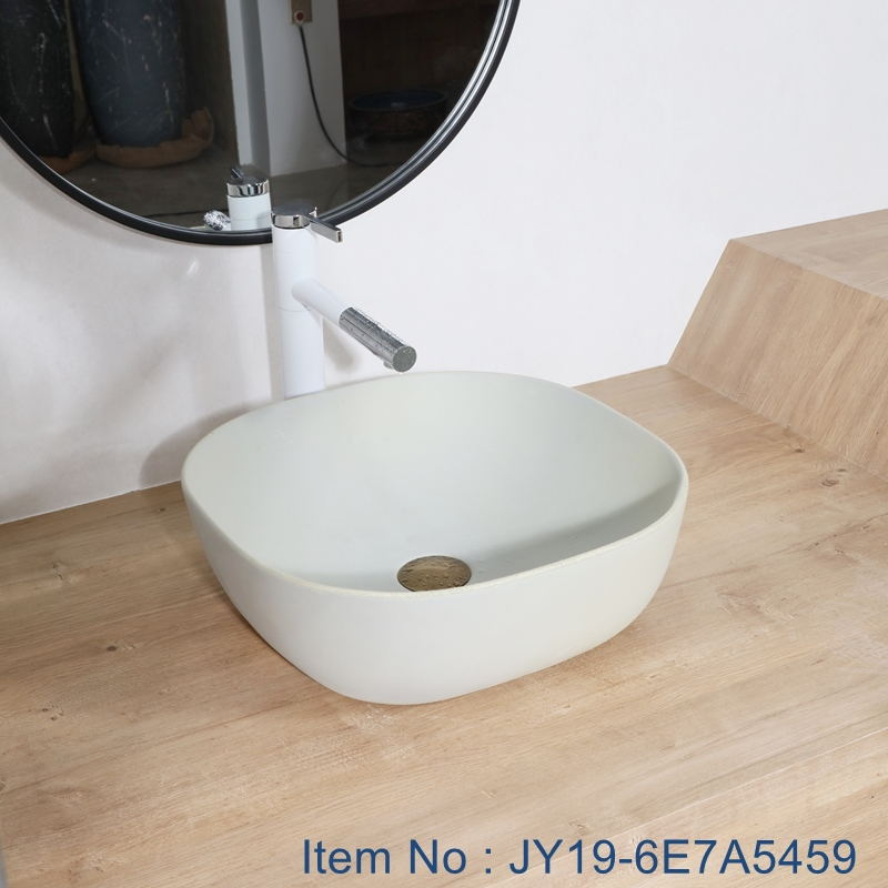 JY19-6E7A5459_看图王 JY19-6E7A5459 Wholesale artistic color glazed oval bathroom ceramic washbasin - shengjiang  ceramic  factory   porcelain art hand basin wash sink