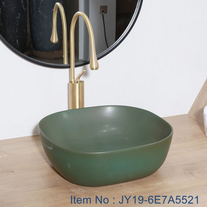 JY19-6E7A5521_看图王 JY19-6E7A5521 Wholesale artistic color glazed oval bathroom ceramic washbasin - shengjiang  ceramic  factory   porcelain art hand basin wash sink