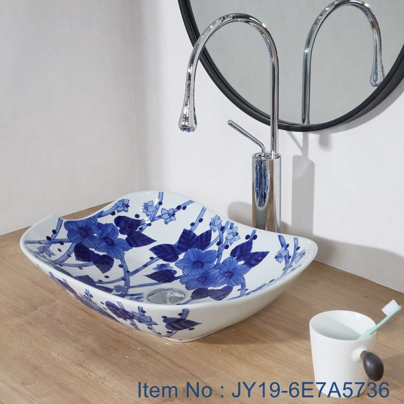 JY19-6E7A5736_看图王 JY19-6E7A5736  Wholesale artistic color glazed oval bathroom ceramic washbasin - shengjiang  ceramic  factory   porcelain art hand basin wash sink