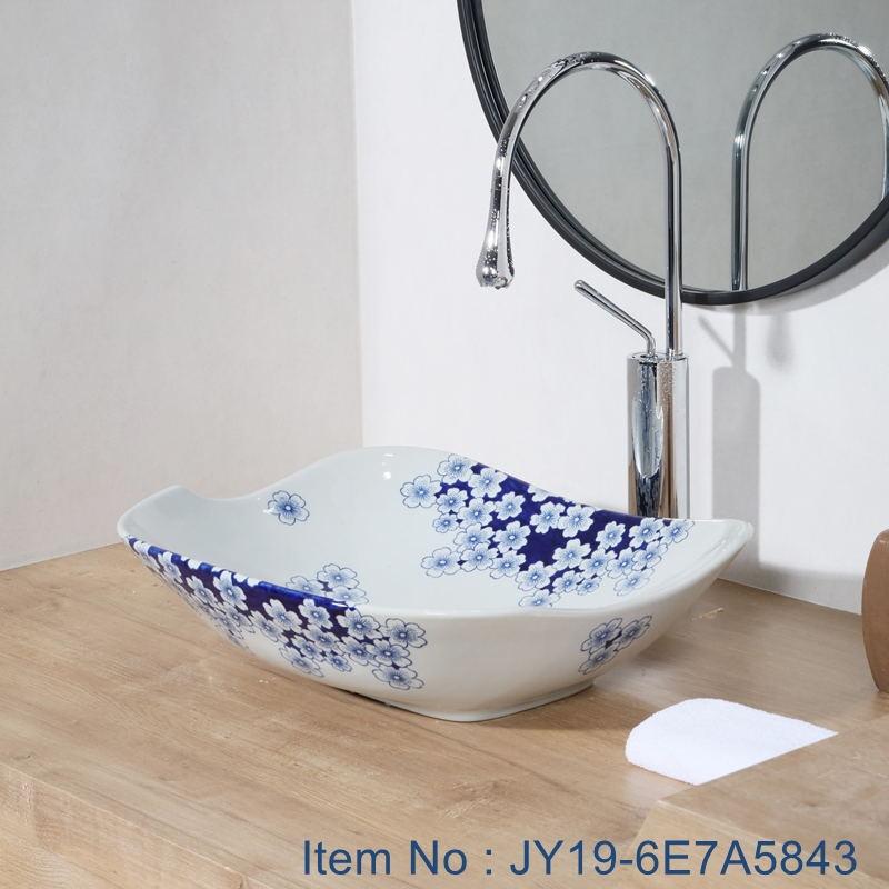 JY19-6E7A5843_看图王 JY19-6E7A5843 New produced Jingdezhen Jiangxi typical colorful art ceramic sink - shengjiang  ceramic  factory   porcelain art hand basin wash sink