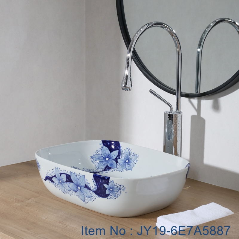 JY19-6E7A5887_看图王 JY19-6E7A5887 New produced Jingdezhen Jiangxi typical floral art ceramic sink - shengjiang  ceramic  factory   porcelain art hand basin wash sink
