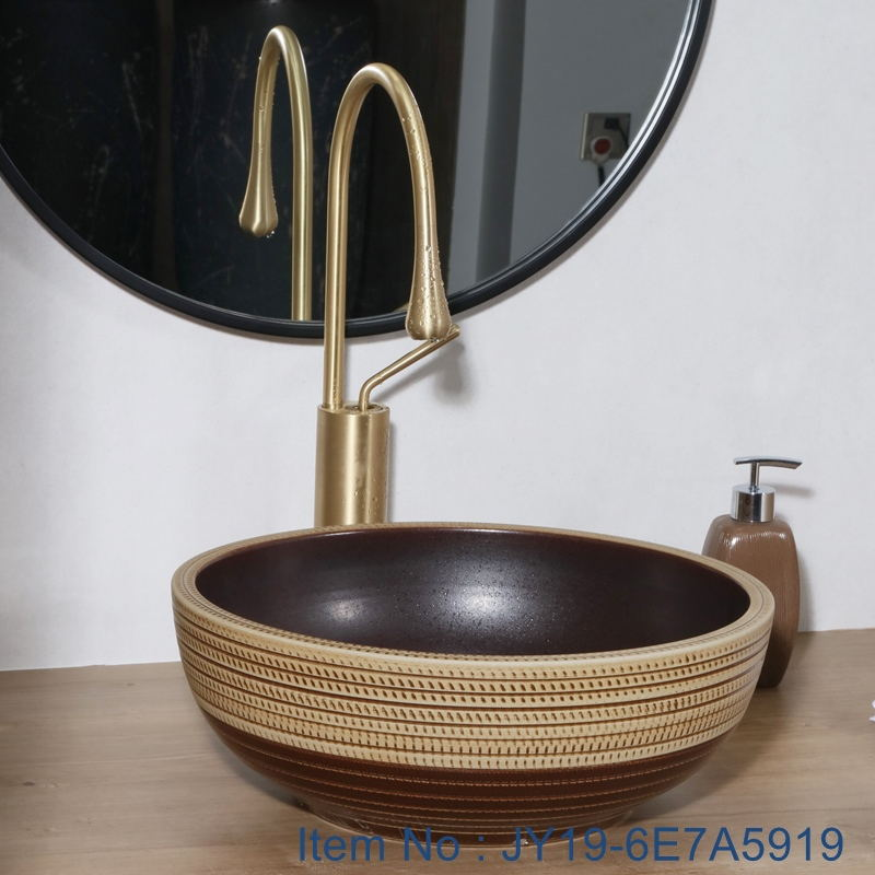 JY19-6E7A5919_看图王 JY19-6E7A5919 New produced Jingdezhen Jiangxi typical colorful art ceramic sink - shengjiang  ceramic  factory   porcelain art hand basin wash sink