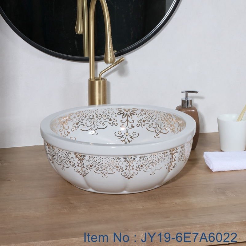 JY19-6E7A6022_看图王 JY19-6E7A6022 Wholesale artistic color glazed oval bathroom ceramic washbasin - shengjiang  ceramic  factory   porcelain art hand basin wash sink