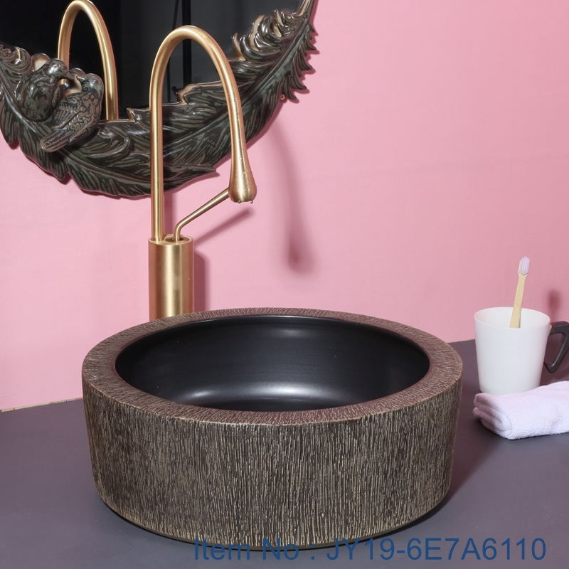 JY19-6E7A6110_看图王 JY19-6E7A6110 modern style high quality ceramic sink capital hot sell - shengjiang  ceramic  factory   porcelain art hand basin wash sink