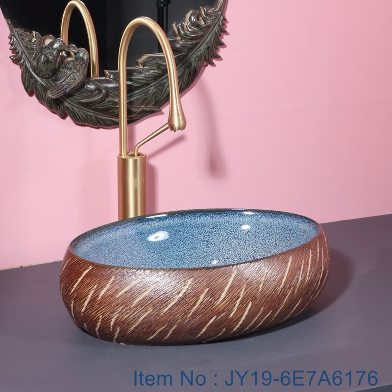 JY19-6E7A6176_看图王1 JY19-6E7A6176 Jingdezhen modern high quality  vanity art ceramic - shengjiang  ceramic  factory   porcelain art hand basin wash sink