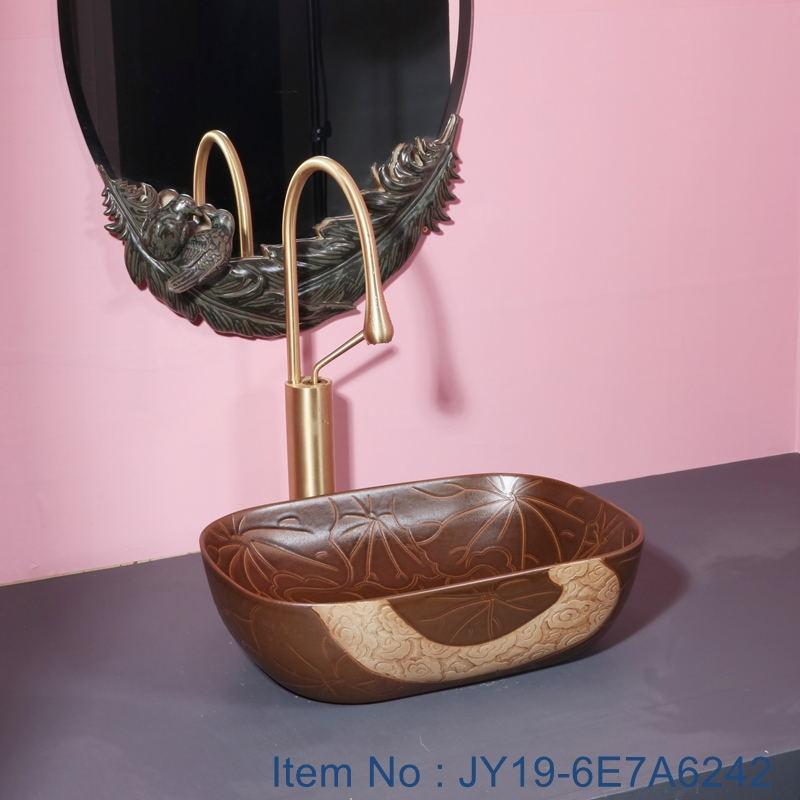 JY19-6E7A6242_看图王 JY19-6E7A6243 New produced Jingdezhen Jiangxi typical floral art ceramic sink - shengjiang  ceramic  factory   porcelain art hand basin wash sink
