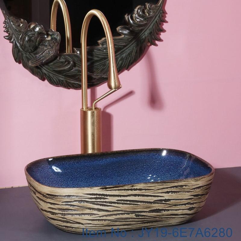 JY19-6E7A6280_看图王 JY19-6E7A6280 New produced Jingdezhen Jiangxi typical floral art ceramic sink - shengjiang  ceramic  factory   porcelain art hand basin wash sink