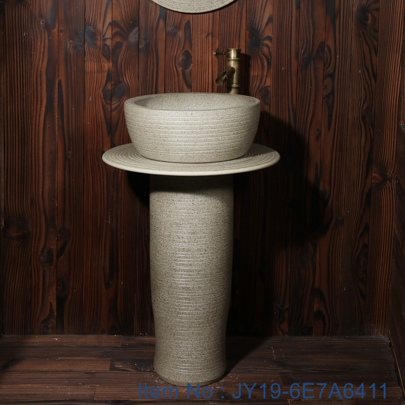 JY19-6E7A6411 JY19-6E7A6411 China wholesale color glazed bathroom porcelain table top vanity basin - shengjiang  ceramic  factory   porcelain art hand basin wash sink