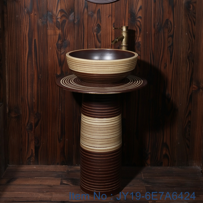 JY19-6E7A6424 JY19-6E7A6424 Jingdezhen modern vanity art ceramic sink - shengjiang  ceramic  factory   porcelain art hand basin wash sink