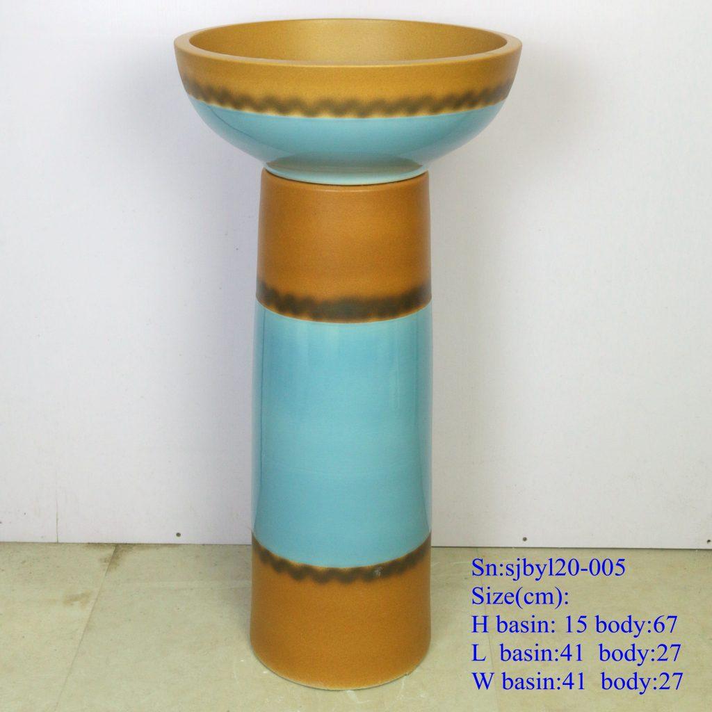 sjbyl20-005-套盆-半古色兰花盆2-1024x1024 sjby120-005 Jingdezhen hand-painted semi-ancient orchid basin - shengjiang  ceramic  factory   porcelain art hand basin wash sink