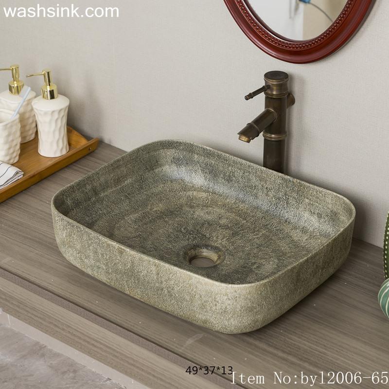 byl2006-65-1 byl2006-65 Shengjiang Exquisite ceramic washbasin with creative pattern - shengjiang  ceramic  factory   porcelain art hand basin wash sink