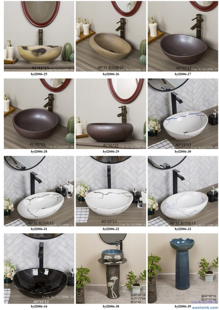 2020-VOL01-jingdezhen-shengjiang-ceramic-art-basin-washsink-brochure-LJ-YR-BYL-JUNY-003-724x1024 Two wash basin catalogues produced by Shengjiang Ceramics Company will be released in 2020.9.14 - shengjiang  ceramic  factory   porcelain art hand basin wash sink