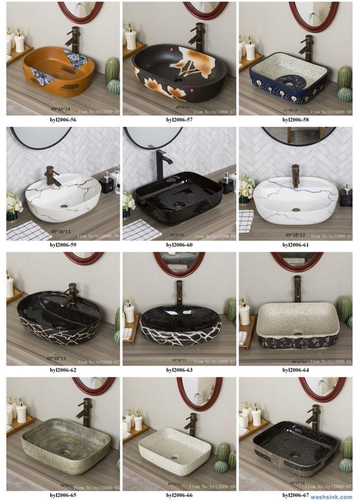 2020-VOL01-jingdezhen-shengjiang-ceramic-art-basin-washsink-brochure-LJ-YR-BYL-JUNY-005-724x1024 Two wash basin catalogues produced by Shengjiang Ceramics Company will be released in 2020.9.14 - shengjiang  ceramic  factory   porcelain art hand basin wash sink