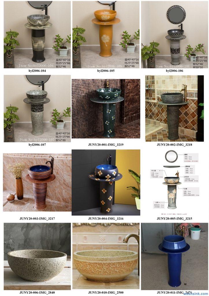2020-VOL01-jingdezhen-shengjiang-ceramic-art-basin-washsink-brochure-LJ-YR-BYL-JUNY-009-724x1024 Two wash basin catalogues produced by Shengjiang Ceramics Company will be released in 2020.9.14 - shengjiang  ceramic  factory   porcelain art hand basin wash sink