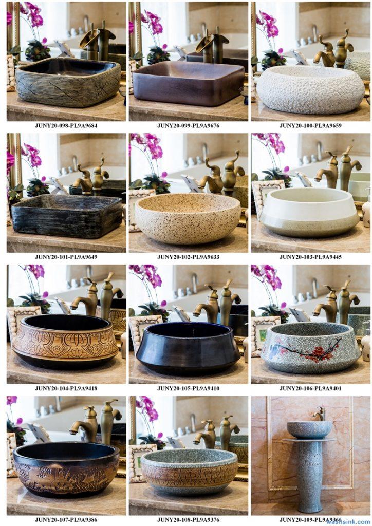 2020-VOL01-jingdezhen-shengjiang-ceramic-art-basin-washsink-brochure-LJ-YR-BYL-JUNY-017-724x1024 Two wash basin catalogues produced by Shengjiang Ceramics Company will be released in 2020.9.14 - shengjiang  ceramic  factory   porcelain art hand basin wash sink