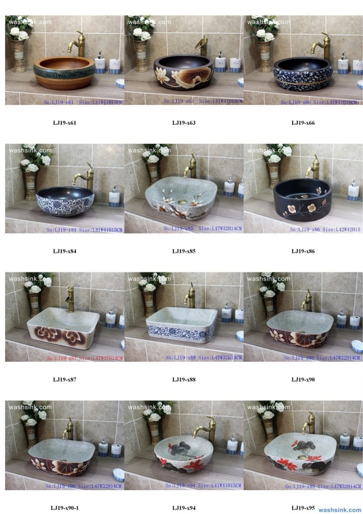 2020-VOL01-jingdezhen-shengjiang-ceramic-art-basin-washsink-brochure-LJ-YR-BYL-JUNY-023-724x1024 Two wash basin catalogues produced by Shengjiang Ceramics Company will be released in 2020.9.14 - shengjiang  ceramic  factory   porcelain art hand basin wash sink