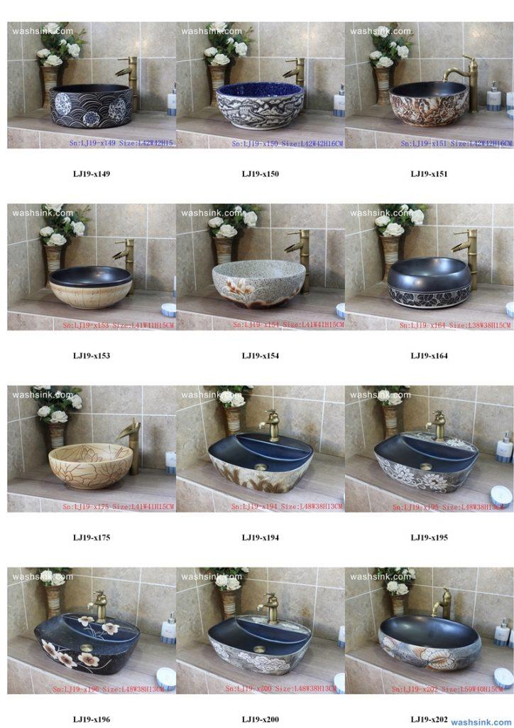 2020-VOL01-jingdezhen-shengjiang-ceramic-art-basin-washsink-brochure-LJ-YR-BYL-JUNY-025-724x1024 Two wash basin catalogues produced by Shengjiang Ceramics Company will be released in 2020.9.14 - shengjiang  ceramic  factory   porcelain art hand basin wash sink