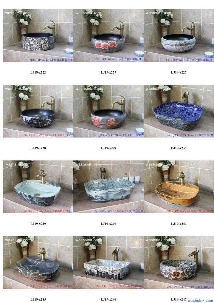 2020-VOL01-jingdezhen-shengjiang-ceramic-art-basin-washsink-brochure-LJ-YR-BYL-JUNY-027-724x1024 Two wash basin catalogues produced by Shengjiang Ceramics Company will be released in 2020.9.14 - shengjiang  ceramic  factory   porcelain art hand basin wash sink