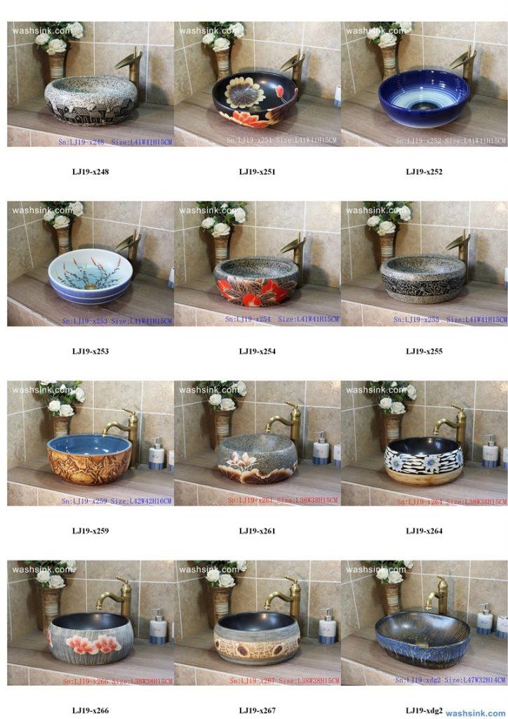 2020-VOL01-jingdezhen-shengjiang-ceramic-art-basin-washsink-brochure-LJ-YR-BYL-JUNY-028-724x1024 Two wash basin catalogues produced by Shengjiang Ceramics Company will be released in 2020.9.14 - shengjiang  ceramic  factory   porcelain art hand basin wash sink
