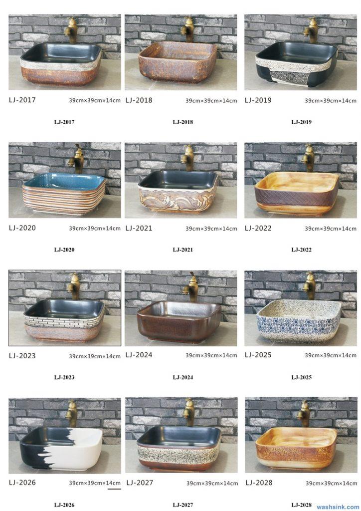 2020-VOL01-jingdezhen-shengjiang-ceramic-art-basin-washsink-brochure-LJ-YR-BYL-JUNY-039-724x1024 Two wash basin catalogues produced by Shengjiang Ceramics Company will be released in 2020.9.14 - shengjiang  ceramic  factory   porcelain art hand basin wash sink