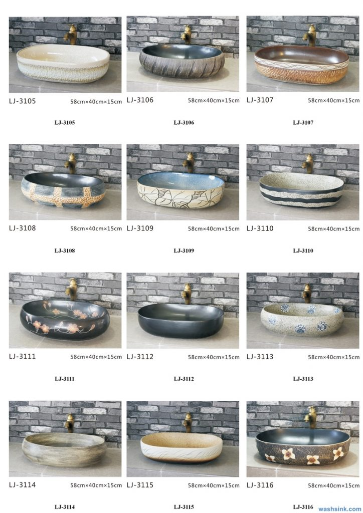 2020-VOL01-jingdezhen-shengjiang-ceramic-art-basin-washsink-brochure-LJ-YR-BYL-JUNY-051-724x1024 Two wash basin catalogues produced by Shengjiang Ceramics Company will be released in 2020.9.14 - shengjiang  ceramic  factory   porcelain art hand basin wash sink