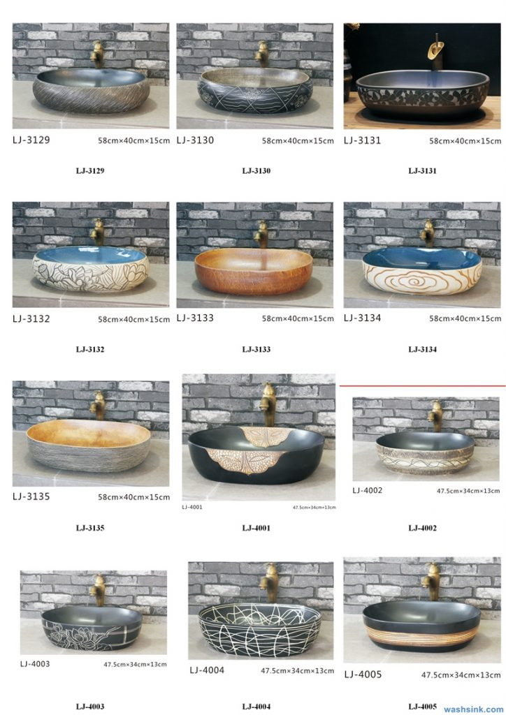 2020-VOL01-jingdezhen-shengjiang-ceramic-art-basin-washsink-brochure-LJ-YR-BYL-JUNY-053-724x1024 Two wash basin catalogues produced by Shengjiang Ceramics Company will be released in 2020.9.14 - shengjiang  ceramic  factory   porcelain art hand basin wash sink