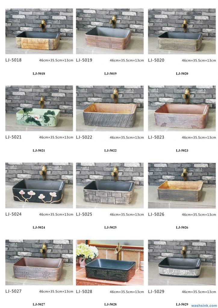 2020-VOL01-jingdezhen-shengjiang-ceramic-art-basin-washsink-brochure-LJ-YR-BYL-JUNY-056-724x1024 Two wash basin catalogues produced by Shengjiang Ceramics Company will be released in 2020.9.14 - shengjiang  ceramic  factory   porcelain art hand basin wash sink