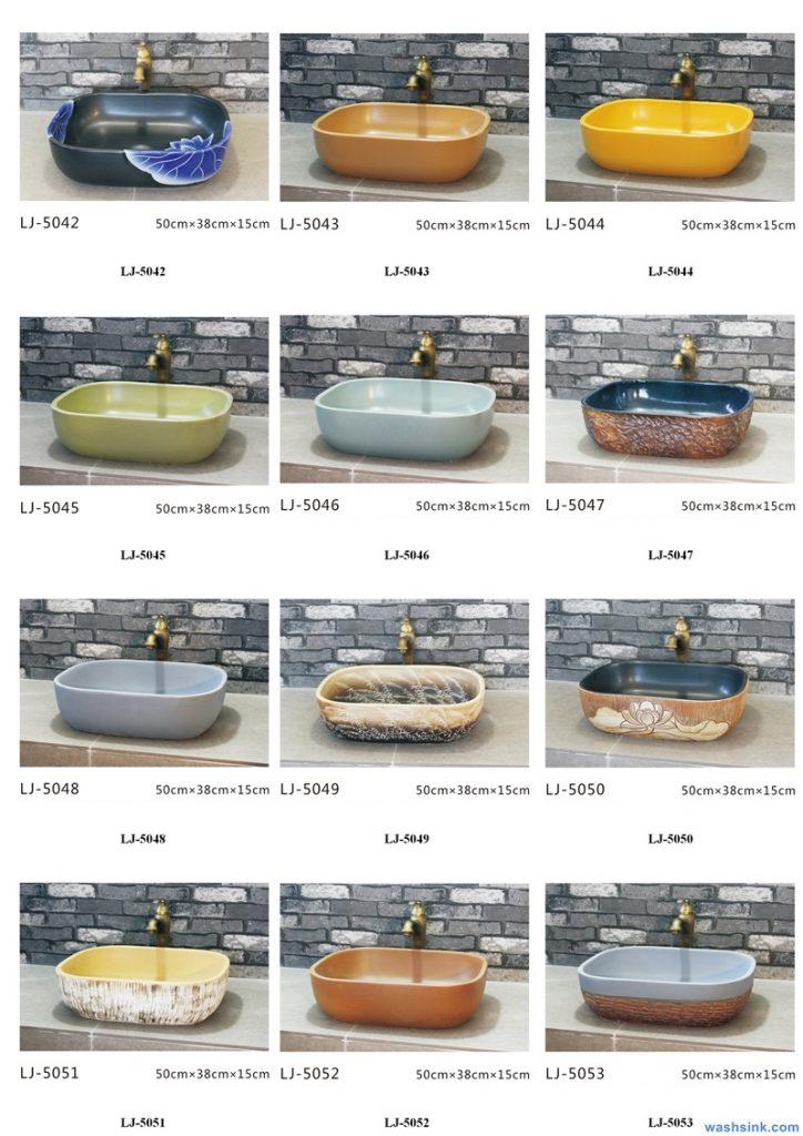 2020-VOL01-jingdezhen-shengjiang-ceramic-art-basin-washsink-brochure-LJ-YR-BYL-JUNY-058-724x1024 Two wash basin catalogues produced by Shengjiang Ceramics Company will be released in 2020.9.14 - shengjiang  ceramic  factory   porcelain art hand basin wash sink
