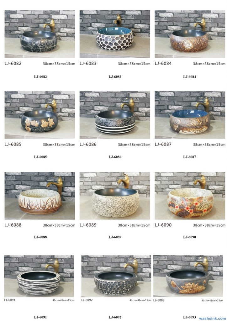 2020-VOL01-jingdezhen-shengjiang-ceramic-art-basin-washsink-brochure-LJ-YR-BYL-JUNY-067-724x1024 Two wash basin catalogues produced by Shengjiang Ceramics Company will be released in 2020.9.14 - shengjiang  ceramic  factory   porcelain art hand basin wash sink