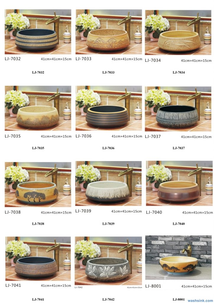 2020-VOL01-jingdezhen-shengjiang-ceramic-art-basin-washsink-brochure-LJ-YR-BYL-JUNY-071-724x1024 Two wash basin catalogues produced by Shengjiang Ceramics Company will be released in 2020.9.14 - shengjiang  ceramic  factory   porcelain art hand basin wash sink
