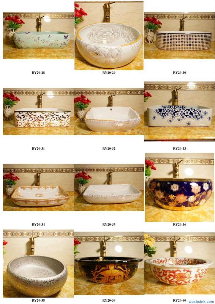 2020-VOL01-jingdezhen-shengjiang-ceramic-art-basin-washsink-brochure-LJ-YR-BYL-JUNY-078-724x1024 Two wash basin catalogues produced by Shengjiang Ceramics Company will be released in 2020.9.14 - shengjiang  ceramic  factory   porcelain art hand basin wash sink