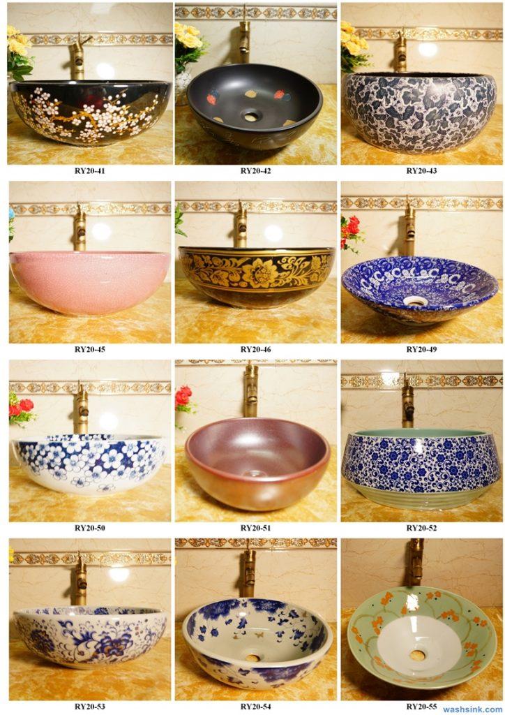 2020-VOL01-jingdezhen-shengjiang-ceramic-art-basin-washsink-brochure-LJ-YR-BYL-JUNY-079-724x1024 Two wash basin catalogues produced by Shengjiang Ceramics Company will be released in 2020.9.14 - shengjiang  ceramic  factory   porcelain art hand basin wash sink