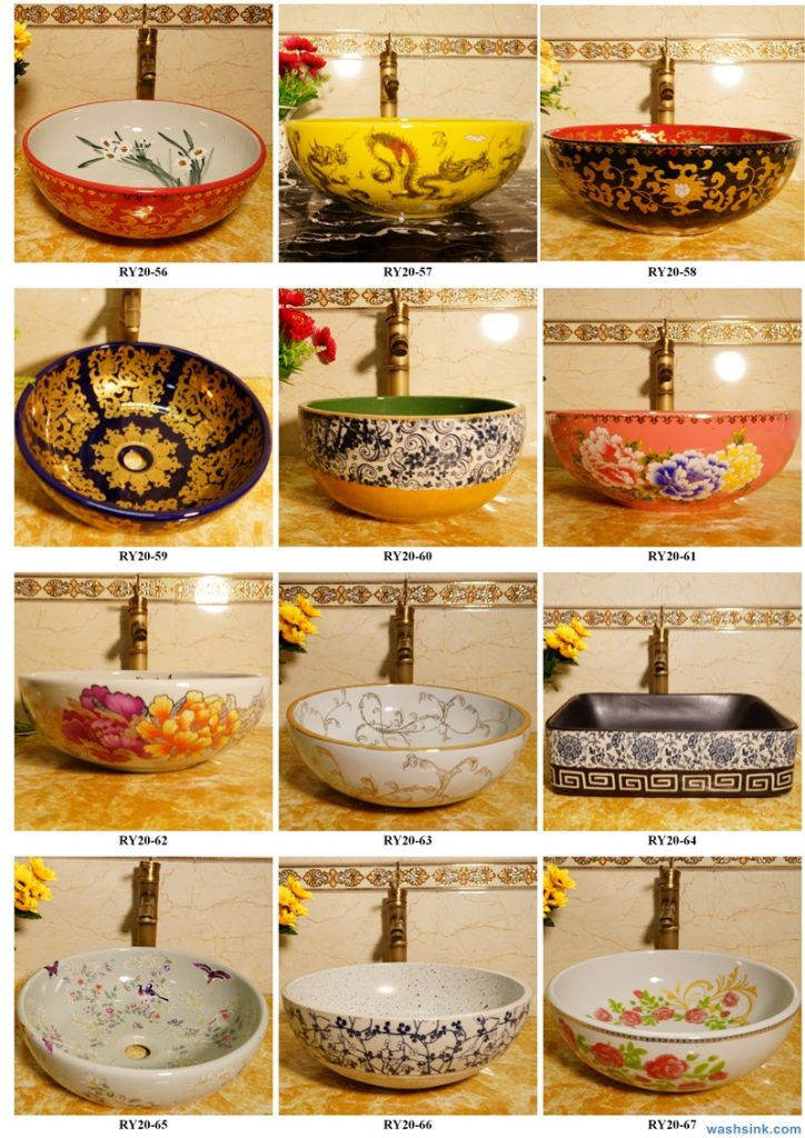 2020-VOL01-jingdezhen-shengjiang-ceramic-art-basin-washsink-brochure-LJ-YR-BYL-JUNY-080-724x1024 Two wash basin catalogues produced by Shengjiang Ceramics Company will be released in 2020.9.14 - shengjiang  ceramic  factory   porcelain art hand basin wash sink