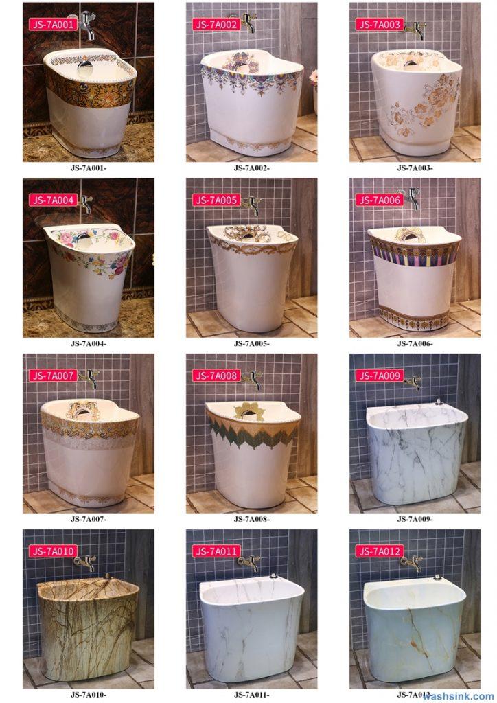 2020-VOL02-jingdezhen-shengjiang-ceramic-art-basin-washsink-brochure-JS-001-724x1024 Two wash basin catalogues produced by Shengjiang Ceramics Company will be released in 2020.9.14 - shengjiang  ceramic  factory   porcelain art hand basin wash sink